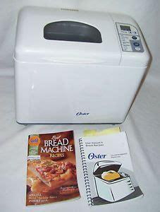 bread maker recipe book ebay new sunbeam oster bread maker machine belt 5811 5833 5834