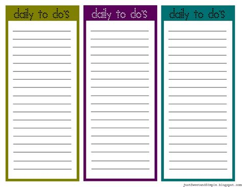 printable daily to do list template printable task list free and printable daily to