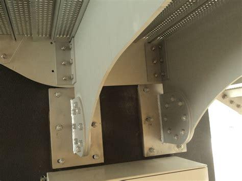 scale a mensola scala antincendio in alluminio con struttura a sbalzo