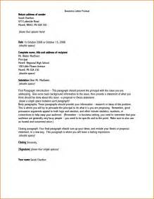Business Letter Format Your Address how to address a business letter the best letter sample