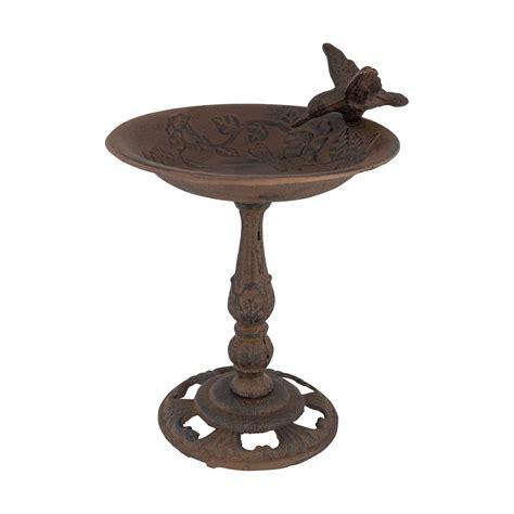 wrought iron bird l cast iron bird feeder birds of prey