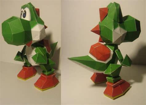 Yoshi Origami - yoshi papercraft by chartodileon on deviantart