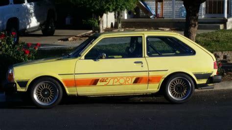 1979 mazda glc mazda glc hatchback 1979 yellow for sale fa4us562815 1979