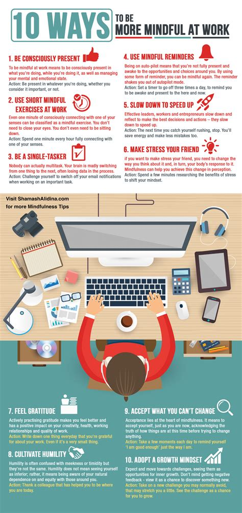 8 Ways To Be More Affectionate by Infographic 10 Ways To Be More Mindful At Work