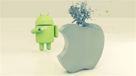 wallpaper android 1280 x 720 1280x720 apple vs android desktop pc and mac wallpaper