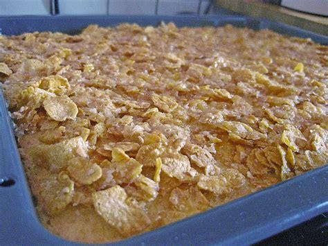omas kuchen omas cornflakes kuchen rezept mit bild mrxxxtrinity