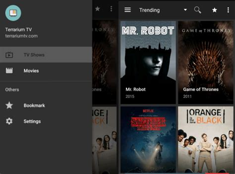 tv shows apk terrarium tv apk 1 9 0 android pc chromebook review