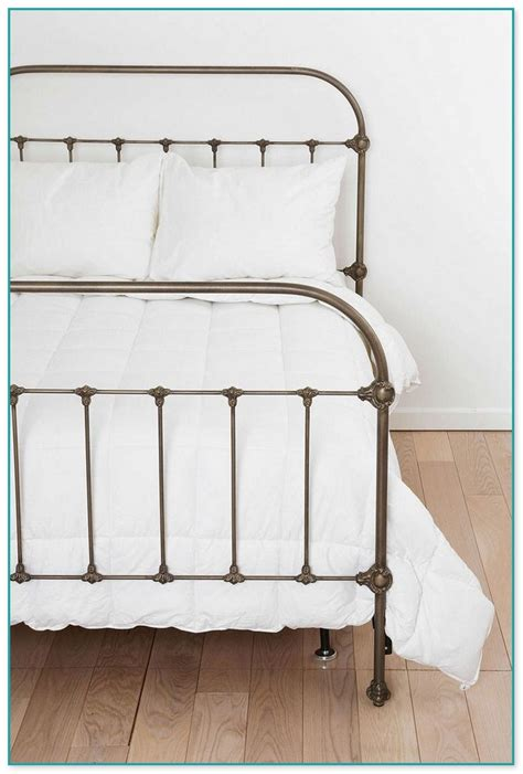 Antique Iron Bed Frame Value Antique White Wrought Iron Beds