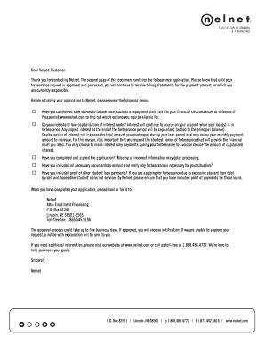 Nelnet Mortgage Letter fillable nelbet gorm fill printable