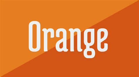 orange the underrated colour silo creativo