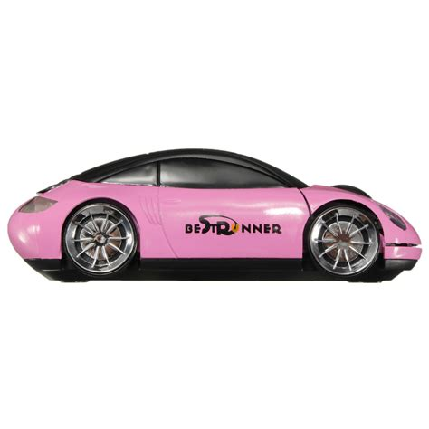 Pink Car Mouse With Led Headlights by 2 4ghz Wireless Usb Optical Car Mouse Mice Cordless For Pc