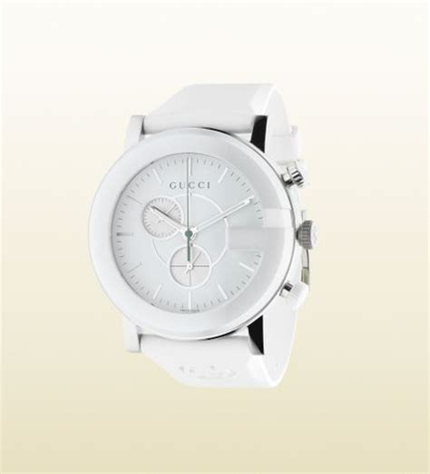Gu Cci Ceramic gucci gchrono ceramic collection in white for