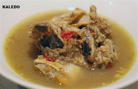 cara membuat makanan ringan khas daerah resep cara membuat kaledo khas sulawesi tengah yang enak