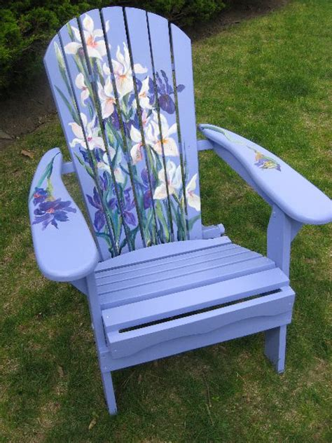 Painted Armchair by Painted Chairs Garden