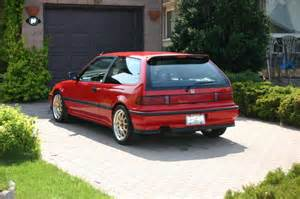 fs 1991 honda civic dx hatchback new paint lowered
