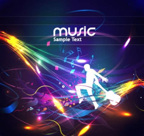 design background event musical poster design template vector free download