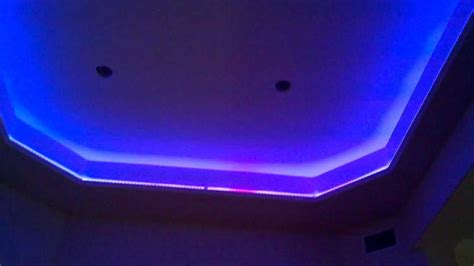 color changing lights for room led color changing lighting in a home media room youtube