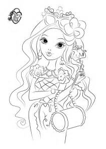 13 images of ever after high briar coloring pages ever