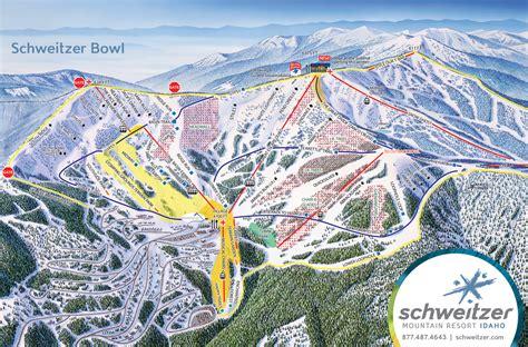 ski resort map usa trail maps