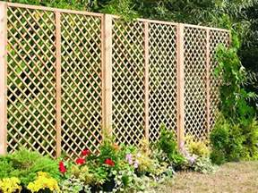 Trellis As A Fence Fence My Garden Fencing Supplies Hshire Fence