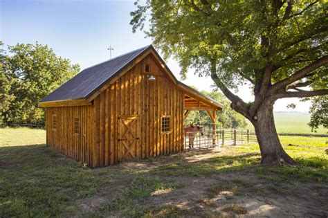 Barns And Sheds by Traditional Wood Barn Ponderosa Country Barn Project