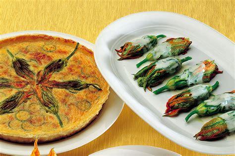 ricette fiori zucchine ricetta quiche con zucchine e fiori la cucina italiana