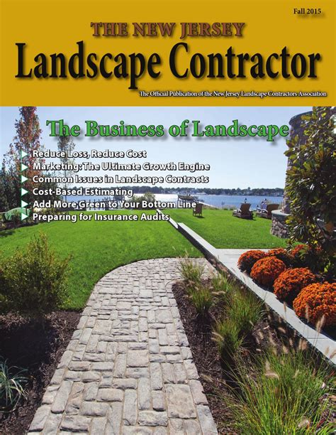Njlca New Jersey Landscape Contractor Magazine September Landscape Contractor Magazine