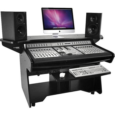 Editing Workstation Desk omnirax coda ex mixing and digital editing workstation