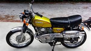 Cl350 Honda Gold 1972 Honda Cl350 K4 Scrambler Walk Around