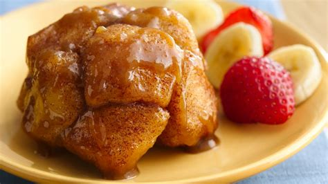 monkey bed monkey bread minis recipe from pillsbury com