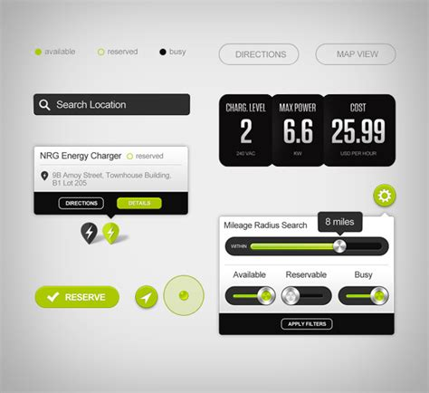 design pattern user interface greenlots branding and user interface design by higher