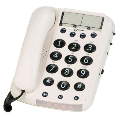 tesco mobile telephone number buy geemarc dallas10 big button corded phone white from