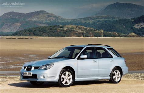 2005 subaru impreza wagon subaru impreza wagon specs 2005 2006 2007 autoevolution