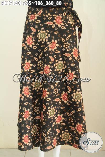 Rok Lilit Batik Kombinasi Tulis Ts1 jual rok batik lilit trend terkini baju batik bawahan