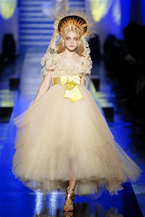 Jean Paul Gaultier Summer 2007 Haute Couture Length by Jean Paul Gaultier Summer 2007 Couture