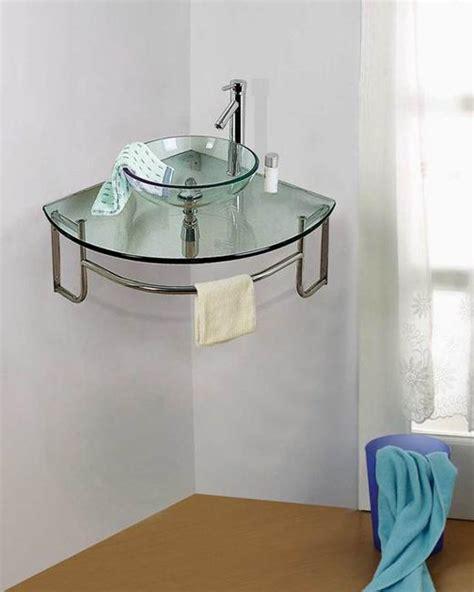 modern bathroom sinks small spaces corner bathroom sinks creating space saving modern