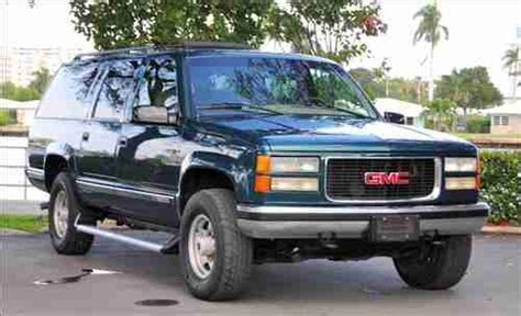 how does cars work 1996 gmc suburban 2500 electronic valve timing purchase used 1996 gmc suburban 2500 slt 4x4 loaded great condition perfect tow vehicle in