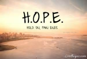 Vanity Bible Meaning H O P E Hold On Pain Ends Pictures Photos And Images