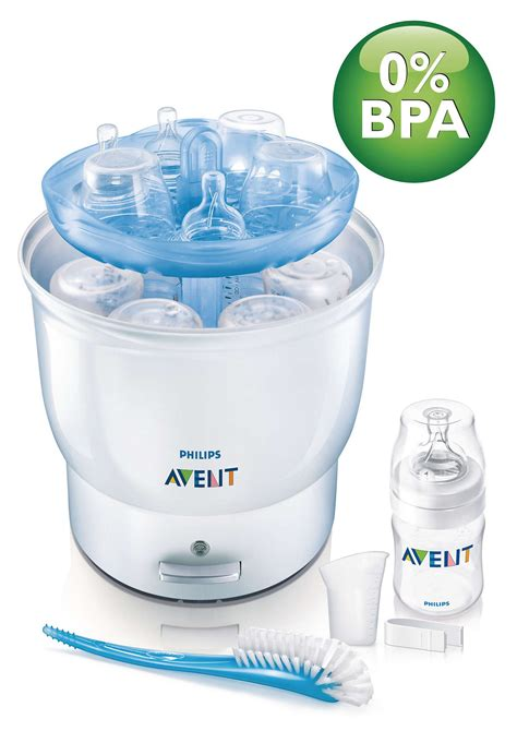 Philips Steriliazer electric steam steriliser scf274 51 avent