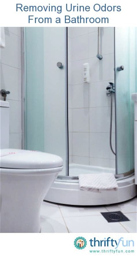 get urine smell out of bathroom removing urine odors from a bathroom thriftyfun