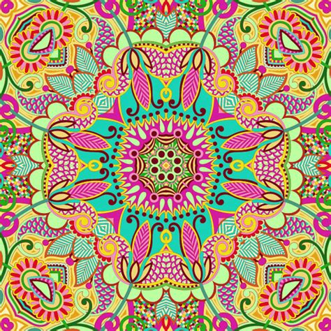 colorful designs and patterns colorful decorative pattern design elements vector