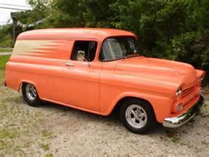 1958 chevrolet panel truck resto mod pro for sale