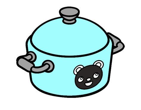 olla de cocina dibujo de una olla de cocina pintado por en dibujos net el