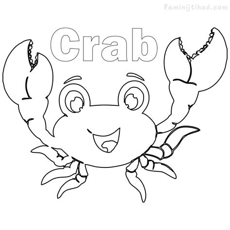 ghost crab coloring page stunning crab coloring pages printable images resume