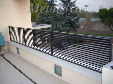parapetto terrazzo balcone parapetti 10 metalstyle