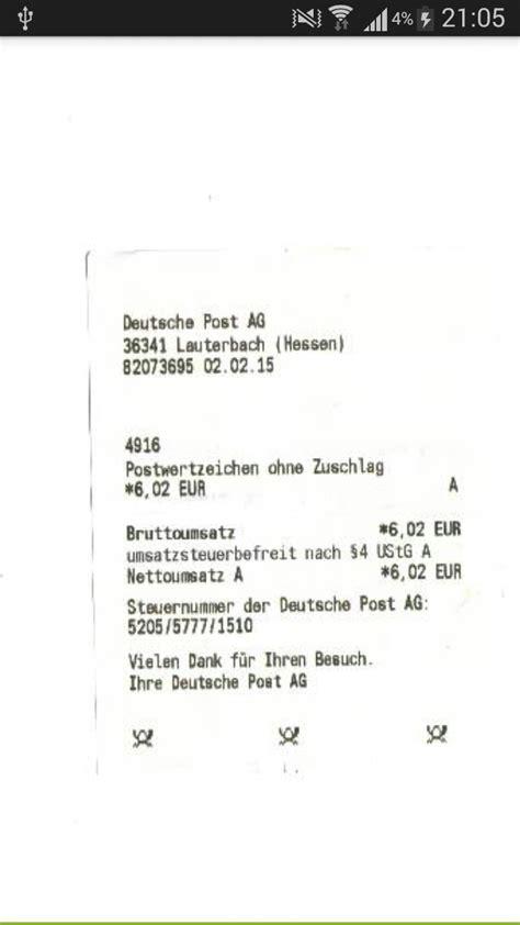 Dhl Auto Verfolgen by Deutsche Post Mit Sendungsbeleg Paket Verfolgen Siehe