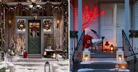 ideas para decorar entradas de casas ideas para decorar la entrada de casa para navidad