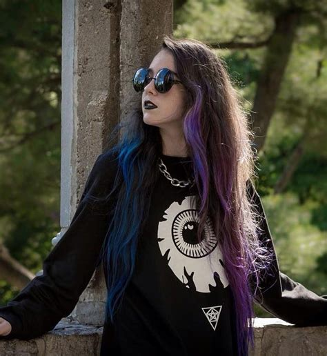 edgy purple hair color ideas best hair color trends 2017 35 stunning blue and purple hair ideas fantasy colors