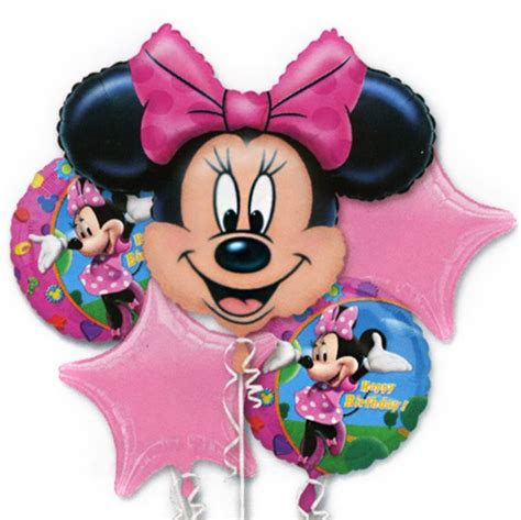 Balon Minnie Mouse Cupcakes by Minne Mouse Birthday Balloon Bouquet The Cupcake Delivers