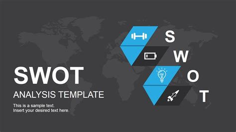 ppt templates for electronics presentation swot analysis template for powerpoint slidemodel